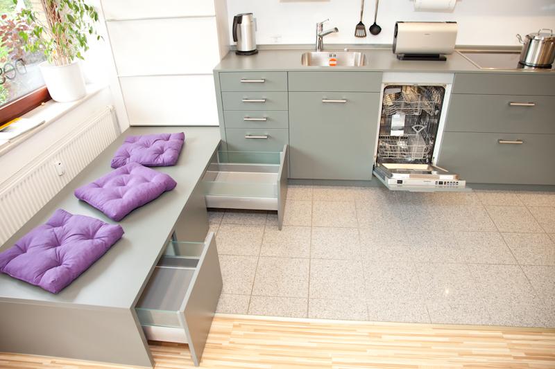 küchenblock mit sitzbank | dockarm